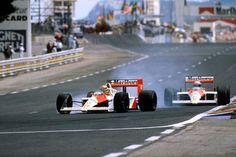 1988 French Grand Prix - Ayrton Senna vs Alain Prost (McLaren) [1500x1000]