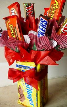 Homemade gift idea for him (or her) or any candy lover!