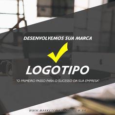 O Investimento no logotipo deve ser o primeiro passo quando se pensa em empreender, não deixe para depois invista na sua marca!
