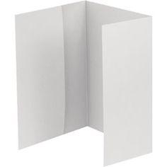 A7 Folder Invitation Enclosures - In Silver Shimmer