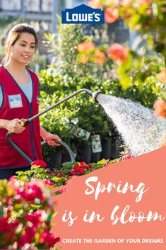 Create the garden of your dreams. Visit Lowe's today! #Spring #Flowers