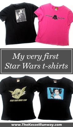 My very first Star Wars t-shirts - The Kessel Runway