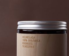 packaging design for organic produce maker MamaBrown. label is laser-engraved over thin wood.