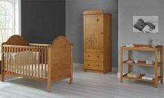 Obaby B Is For Bear 3 Piece Single Furniture Set Country Pine From Our Nursery Sets Range At Tesco Direct