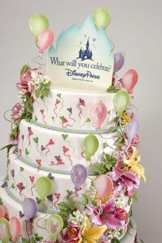 A Disney Parks Cake