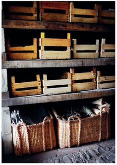 Great storage  ~ I'm thinking, potting shed, or in the garage, back porch.....