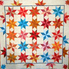 #quilts Lemoyne Star