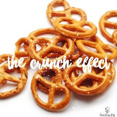 Let's talk about crunching!! No not the kind that makes you want to tear your ears off (it's a real thing - misophonia - look it up!)  No we are talking the kind of crunch that happens when eating a crunchy snack while watching tv or listening to loud music. When you are eating something crunchy (like pretzels cookies or chips) and you can't hear the sound of the crunching you are likely to eat more - maybe even the whole bag!   So next time you want to treat yourself to some sort of crunchy…