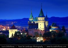 https://flic.kr/p/hr1Gib | Slovakia - Bojnice Castle - Bojnický zámok - Fairy-tale castle - Dusk - Twilight - Blue Hour |  Join me on Facebook   |   Google+  |  Twitter   |   500px     |   Instagram   ~~~~~~~~~  Europe - Slovakia - Slovak Republic - Slovensko - Bojnice Castle - Bojnický zámok - Fairy-tale castle - One of the most visited & most beautiful castles not only in Slovakia, but also in central Europe - Dusk - Twilight - Blue Hour  Camera Model: Canon EOS 5D Mark II; Lens: 24.00...