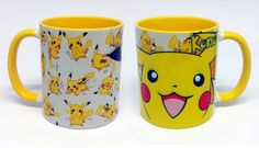 Caneca Amarela Pikachu. Opção para fazer um mimo para seus filhos =D  #pikachu