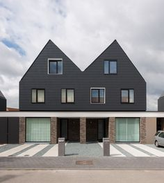 Architectuuratelier Dertien12 - 6 Identical Differences / Beveren, Belgium