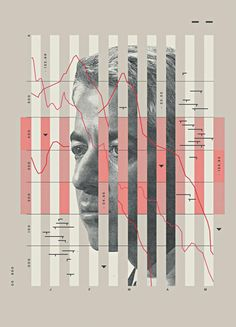 Bill Ackman Illustraton by Mike McQuade сделать треугольные. И с одной стороны лицо ребро и с другого ребра