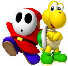 086db132568 Shy Guy and Koopa Troopa  ) Super Mario Brothers