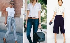 When you spend in the office, why not feel great by dressing in workwear that is stylish and chic. We have rounded up some key trends this season to help you feel amazing at work! Feeling Great, How Are You Feeling, Work Wear, Oxford, Dressing, Chic, Stylish, Pants, How To Wear