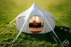4m Lotus Belle Tent - I'd camp in this!