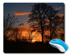 Nature mouse pad Computer Mousepad Mouse by BeautifulDigitalPrin
