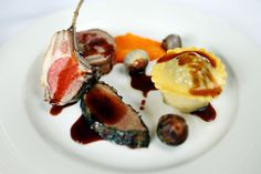 Lamb trio, pithivier with redux drizzle