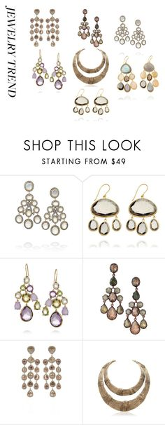 Nine west multi tri tone metal small chandelier drop earrings 31 chandelier style by giuliana g 1 liked on polyvore featuring artisan aloadofball Gallery