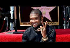 Usher Lands Star on Walk of Fame, Chris Brown and More Congratulate Him