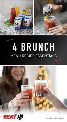 Hosting a Simple, Savory Winter Brunch - Blonde Bedhead Good Food, Yummy Food, Tasty, Yummy Yummy, Fun Food, Simple Beer Recipe, Brunch Menu, Brunch Ideas, Beer Recipes