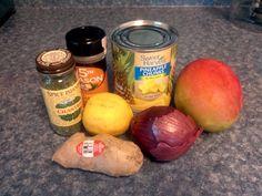 Pineapple ,Mango Salsa Chicken you will love.