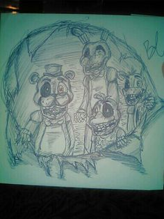 So i drew this with pen ... JUST PEN! HOW DID I DO ?! RATE ME :3
