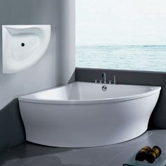 Aquatica Group Inc. PURESCAPE 314 Corner Tub, White - for our bathroom remodel.
