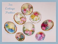 Tea Cottage Pretties: LIMOGES BROOCHES