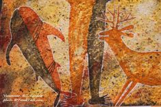 Whale - Mexican Art in Vancouver - MexicoFest - Paradise Between Two Seas -Rock Paintings of Sierra de San Francisco (UNESCO World Heritage)