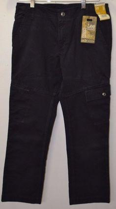 NEW Boy LEE DUNGAREES Cargo Size 14 #Husky Pants Adjustable #Waistband Slim Fit   #Lee #CargoCombat #Everyday