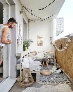 40 Fantastic Apartment Balcony Design Ideas with Perfect Lighting Light! - balcony curtains - balcony light Most Amazing Balcony Lighting Most Amazing Apartment Balcony Lighting Ideas