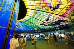 ART : Les 21 plus belles stations de métro au monde   E-TV