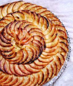 Tarte aux pommes vegan sans gluten sans lactose sans beurre sans œufs