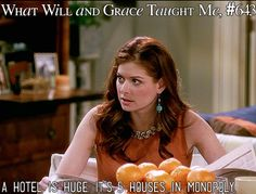 What Will and Grace Taught Me Grace Adler, Will And Grace, Great Tv Shows, Most Favorite, Movies Showing, Great Quotes, Good Movies, The Funny, Sick