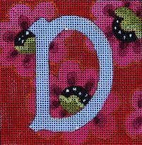 Colors of Praise Needlepoint Alphabet letters
