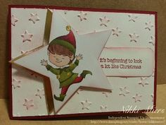 Stampin Up Holiday Catalogue 2015.....Christmas Cuties, Lucky Stars Embossing Folder