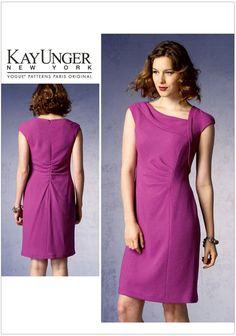 Misses Dress Vogue Pattern 1369.
