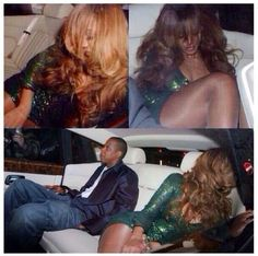 """thickboyswag: """"Roll up the partition please """" Beyonce Knowles Carter, Beyonce And Jay Z, Cute Celebrities, Celebs, Beyonce Family, Beyonce Memes, Beyonce Braids, Blue Ivy Carter, Beyonce Style"""