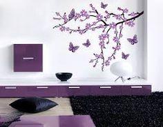 Lieblich Bildergebnis Für Tapeten Schlafzimmer Lila Blumen Wandbild, Baum, Schlafzimmer  Tapete, Zweige, Fototapete