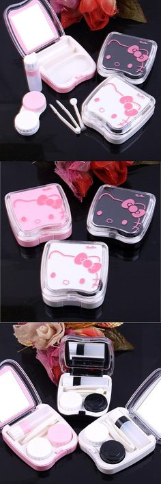 Lovely Contact Lens Box Cute Panda Cartoon Unisex Container For Contact Lens Case Latest Technology Men's Glasses
