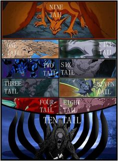 Tailed Beasts ♥