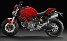 Ducati has present new Monster 696 motorcycle. The Ducati Monster 696 is available with ABS, has a removable seat cover and a micro-bikini fairing.      Specifications    Manufacturer Ducati   Model Monster 696   Category Nak