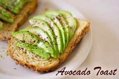 Serve Avocado Toast for breakfast. The kids will love it! Get the super easy recipe at This Mama Cooks! On a Diet - thismamacooks.com