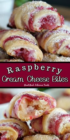 Raspberry Desserts, Just Desserts, Delicious Desserts, Yummy Food, Desserts With Raspberries, Amazing Dessert Recipes, Fresh Raspberry Recipes, Mini Dessert Recipes, Mini Desserts