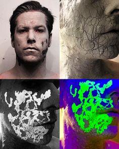 This is a test.  #makeup #makeupfx #spfx #camebackhaunted #demon #instashare #art #film #clay