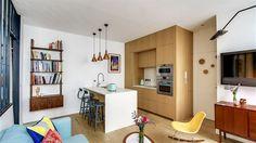 Malý pařížský byt proměnila Carla Lopezová a Margaux Meza z pařížského...
