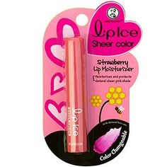Lip ice sheer color Strawberry *** Want to know more, click on the image.