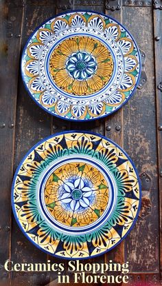 The non-experts guide to shopping for gorgeous (and well-priced) handmade ceramics in Florence, Italy-- a fantastic travel souvenir.