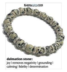 #dalmation #bracelet #pulseras #love #necklace #mindful #rainbow #spiritual #transformation #meditation #mindfulness #diamond #meditate #healing #Heart #love #faith #juju #prayer #spiritual #psychic #stone #intuition #heart #sexuality #weight #motivation #lucky #mantra #magic #Magik #love #star #marriage #fidelity #yoga #healing #anxiety #depression #pray #relationship #fertility #infertility #enlightenment #chakra #success #SelfCare Yoga Jewelry, Jewelry Gifts, Diy Jewelry, Beaded Jewelry, Yoga Bracelet, Stone Bracelet, Bracelets For Men, Beaded Bracelets, Dalmatian