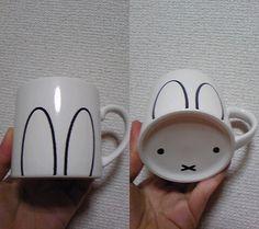peperon999:    祖父江さんうさこマグやばい。 on Twitpic    (via shinoddddd, kogumarecord)  Oh Miffy…